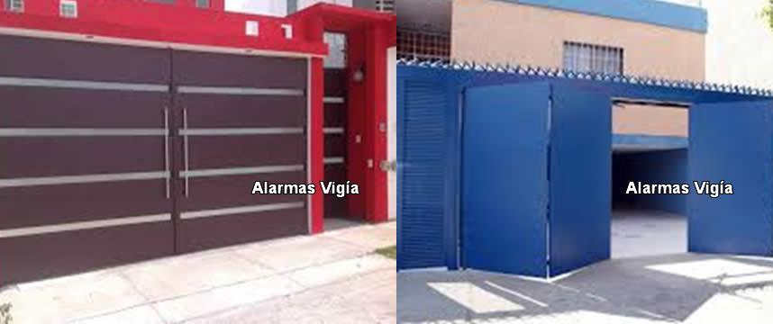 Portones automaticos para garage y cochera - Puertas para cocheras ...