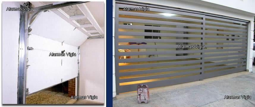 Portones automaticos para garage y cochera for Portones para garage